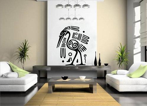 Maya Symbol Wall Sticker