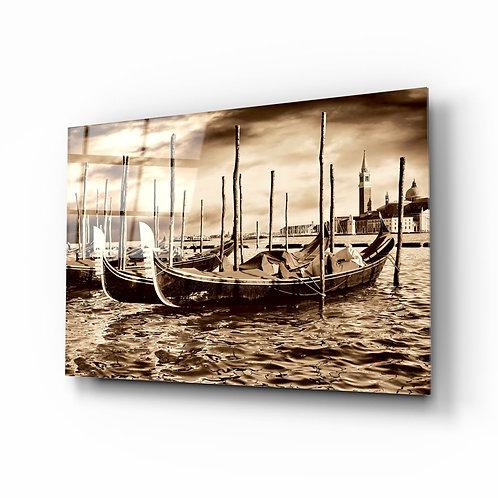 Venice UV Printed Glass Painting