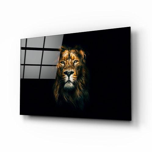 Lion Glass Printing