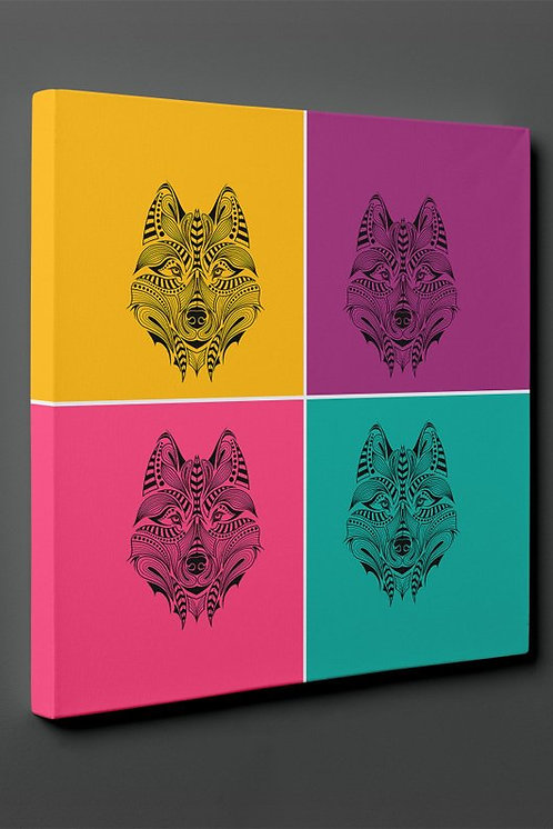 Wolf Canvas Printings