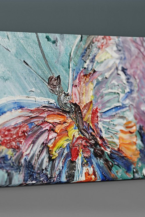 Butterfly (Oil Painting) Canvas Printings