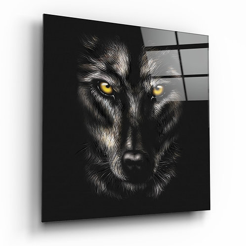 Wolf's Eyes Glass Printing