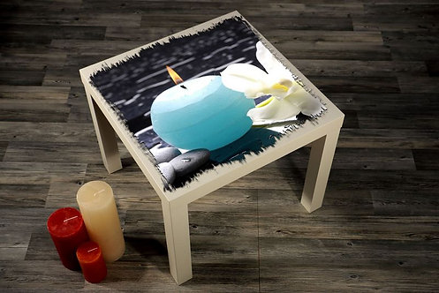 Candle Printed Coffee Tables
