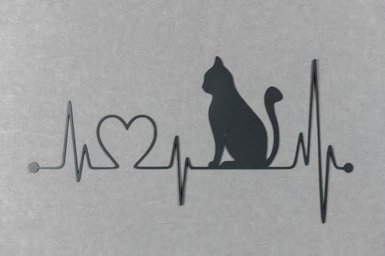 Gato com Linha da Vida