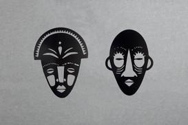 Máscaras Orientais (conjunto 2)