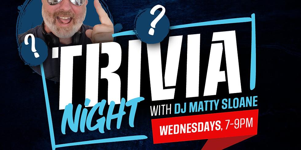 Trivia Wednesdays - with Matty Sloane & 2 For 1 Drinks