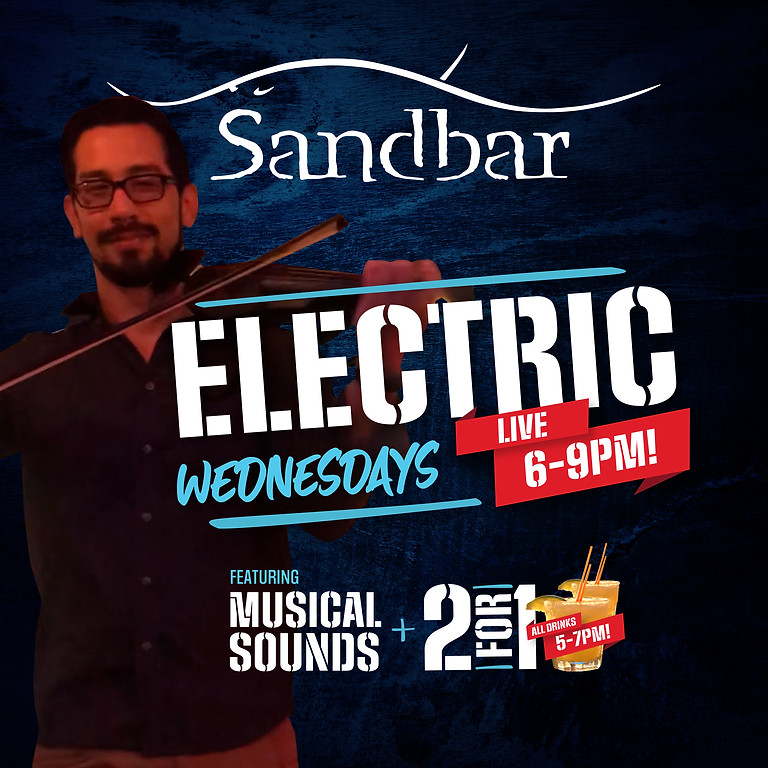 Electric Wednesdays - Violin Mix with Musical Sounds & 2 For 1 Drinks