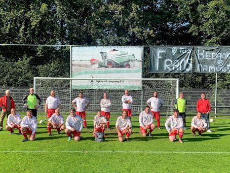FC Kraggenburg 3 neemt afscheid van Frans van Egmond sr.