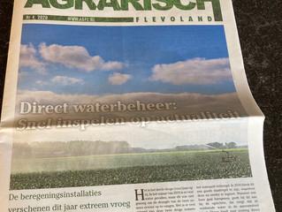 Direct waterbeheer: snel inspelen op actualiteit