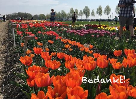 Sponsors Tulpenbelevingsveld