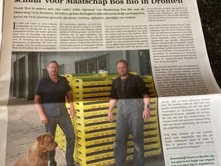 Bouwbedrijf Doorn realiseert nieuwbouw schuur voor Maatschap Bos Bio in Dronten