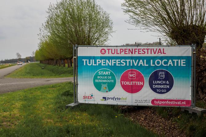 Profytodsd Tulpenfestival met 2 weken verlengd