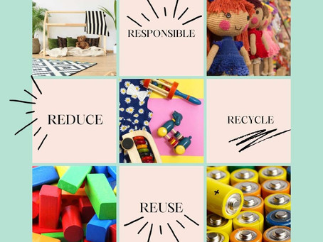 4 R's of Sustainable Play