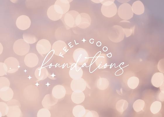 Feel Good Foundations - Logo & Branding-