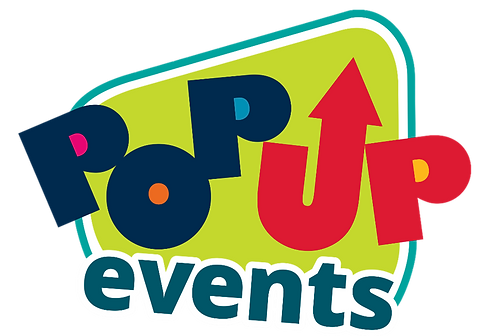 Logo for Pop Up Events