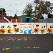 Mural at St Michael's special school in Skerries.