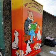 Dublin Canvas Project titled 'Níl aon tinteán mar do thinteán féin (there's no place like home)'