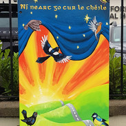 Dublin Canvas project titled 'There's no Strength without Unity'
