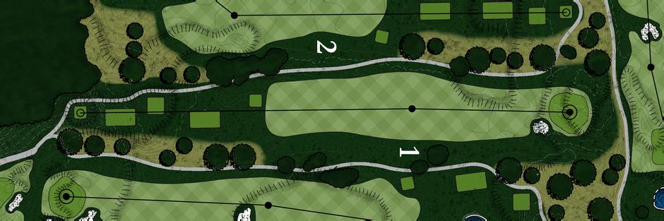Braemar Golf Course - Hole #1