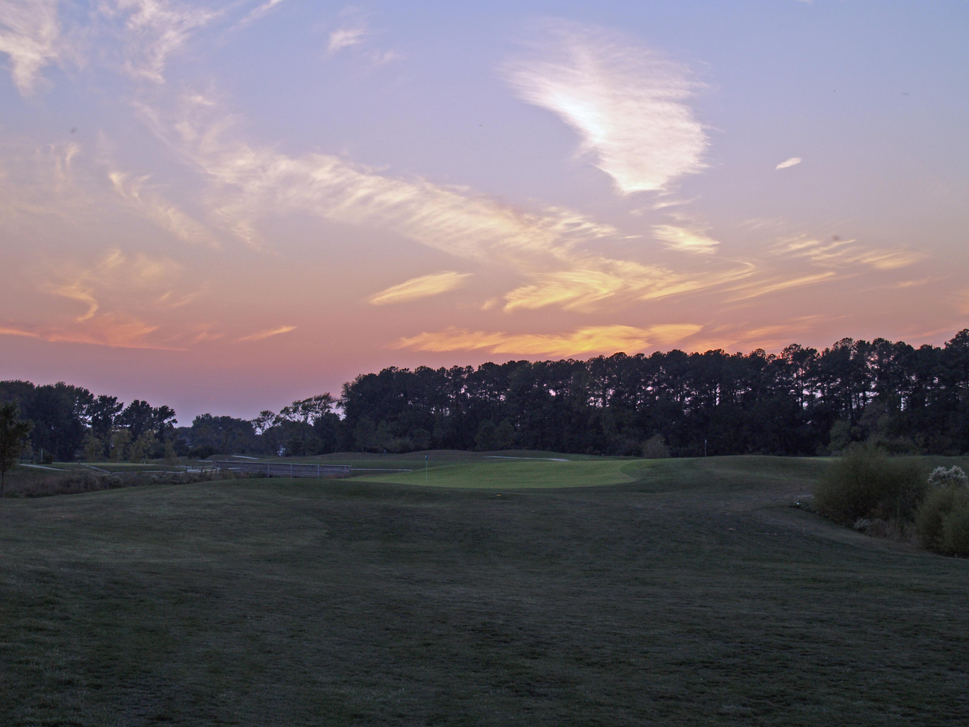 Blue Heron Golf Course -Triple Green