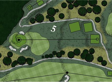 Braemar Golf Course - Hole #5