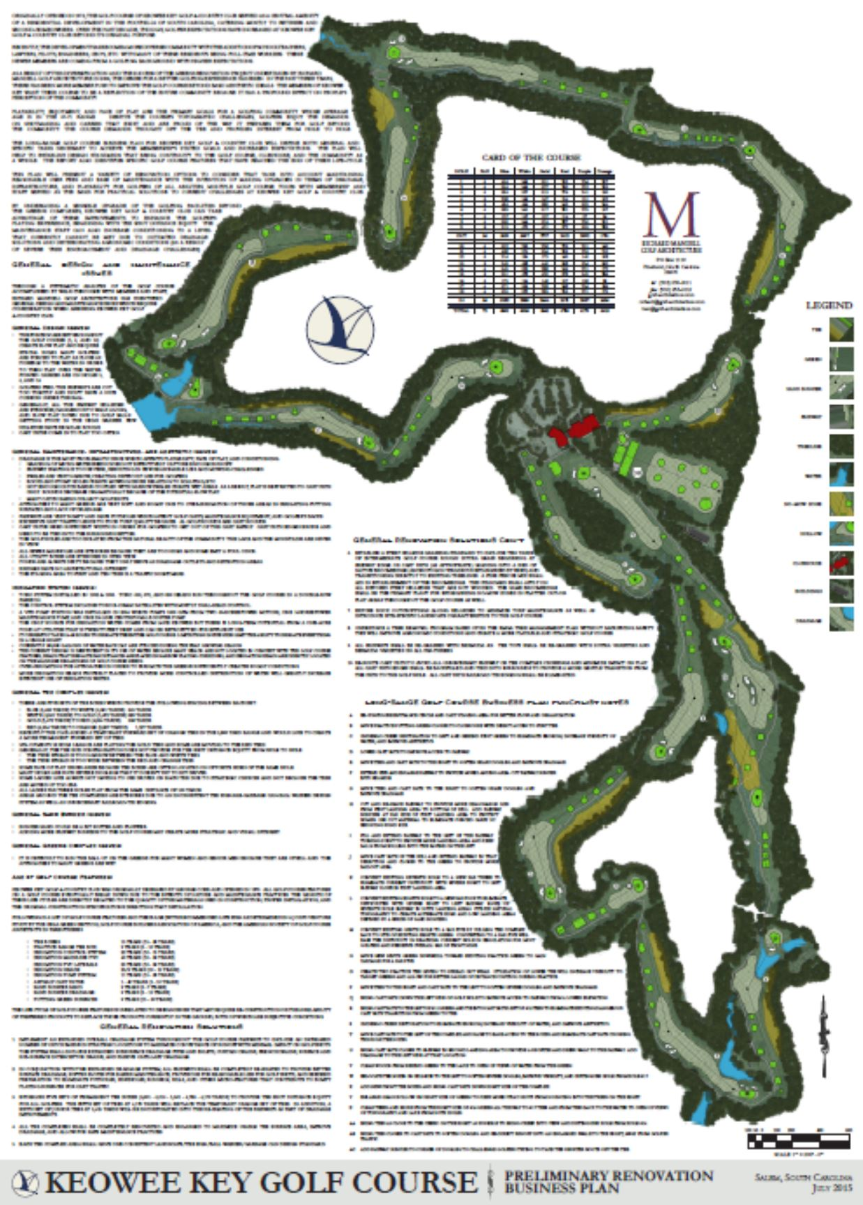 Capture-Keowee Key Plan