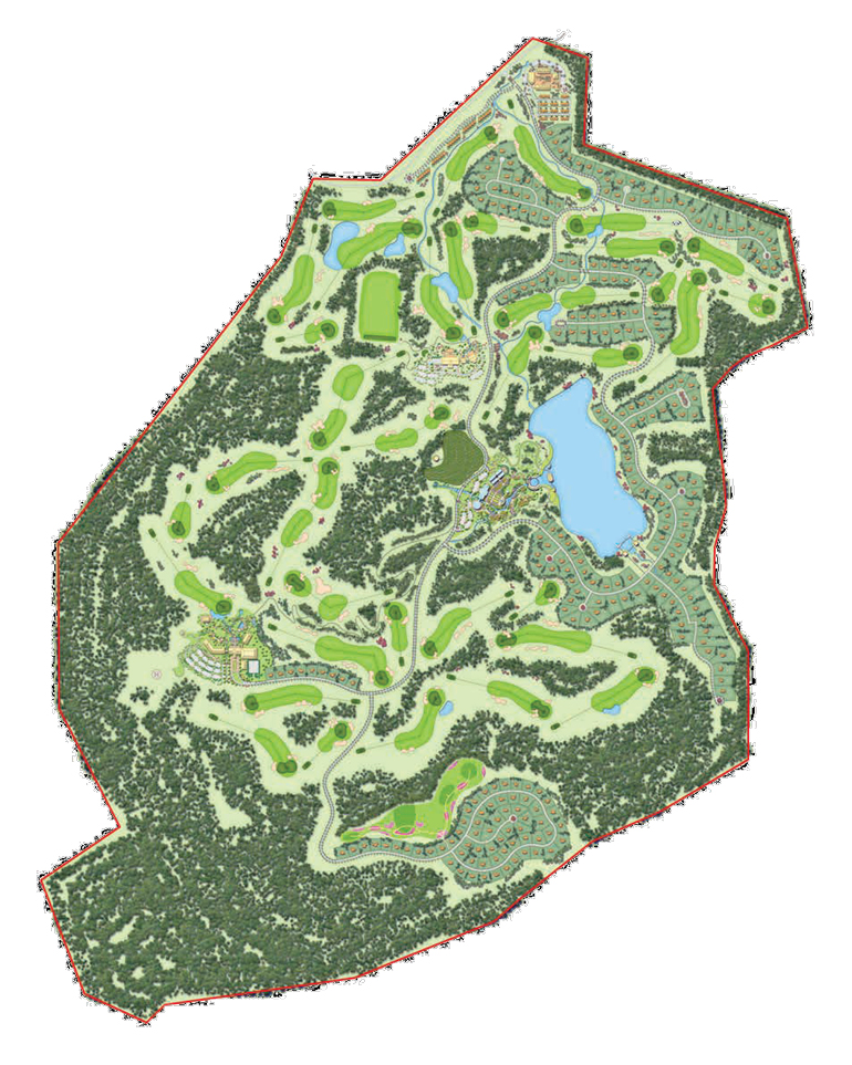 Feng Gang Golf Course Master Plan