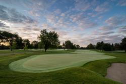 Hole #18 - Keller Golf Course
