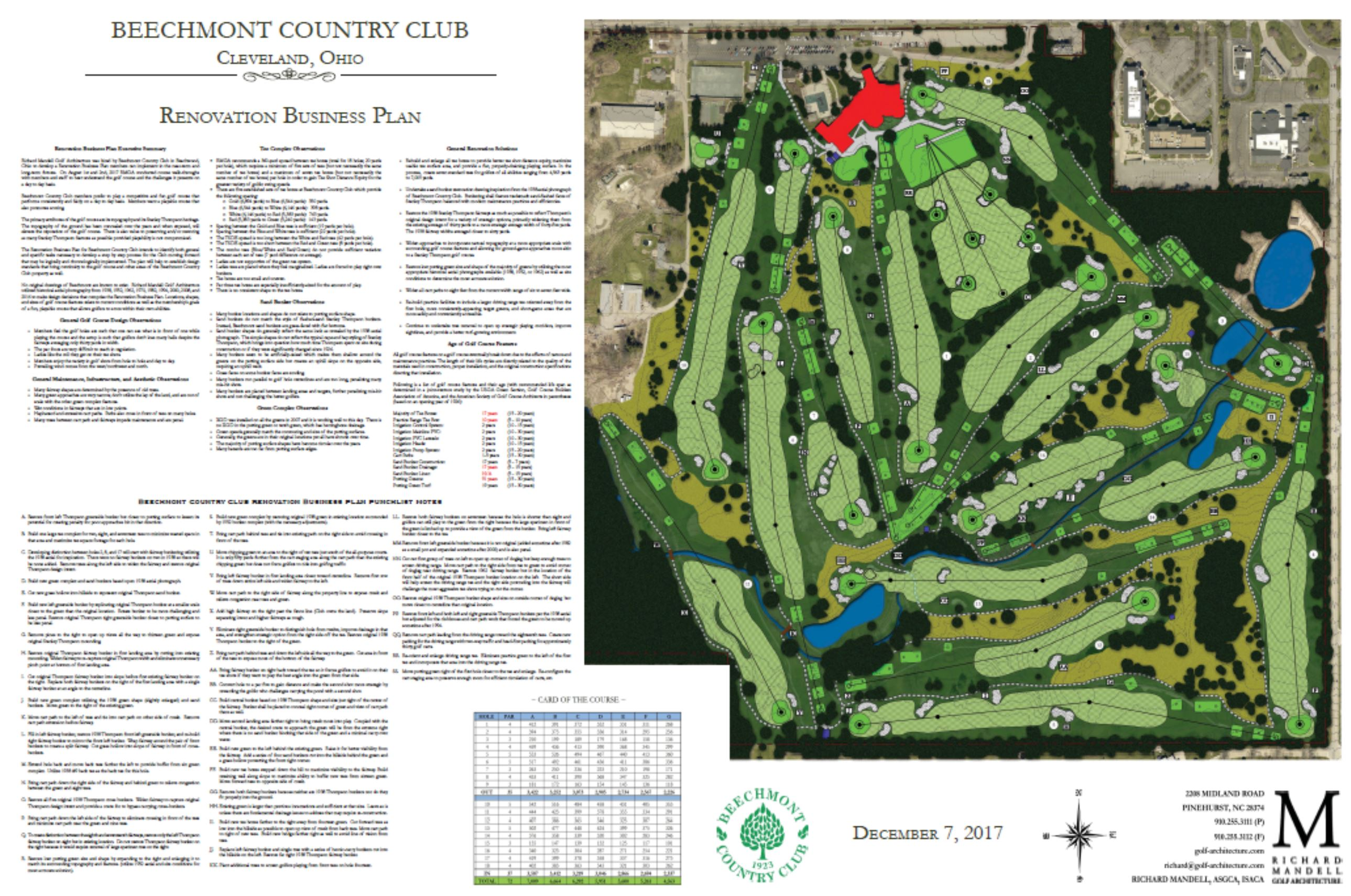 Beechmont Country Club Master Plan
