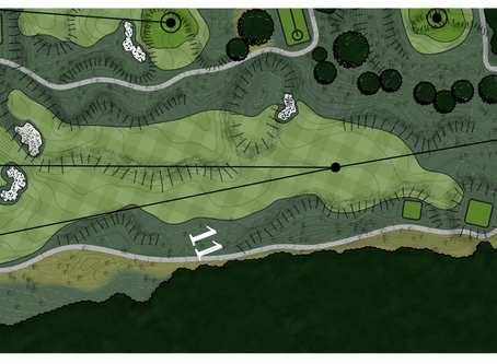 Braemar Golf Course - Hole #11