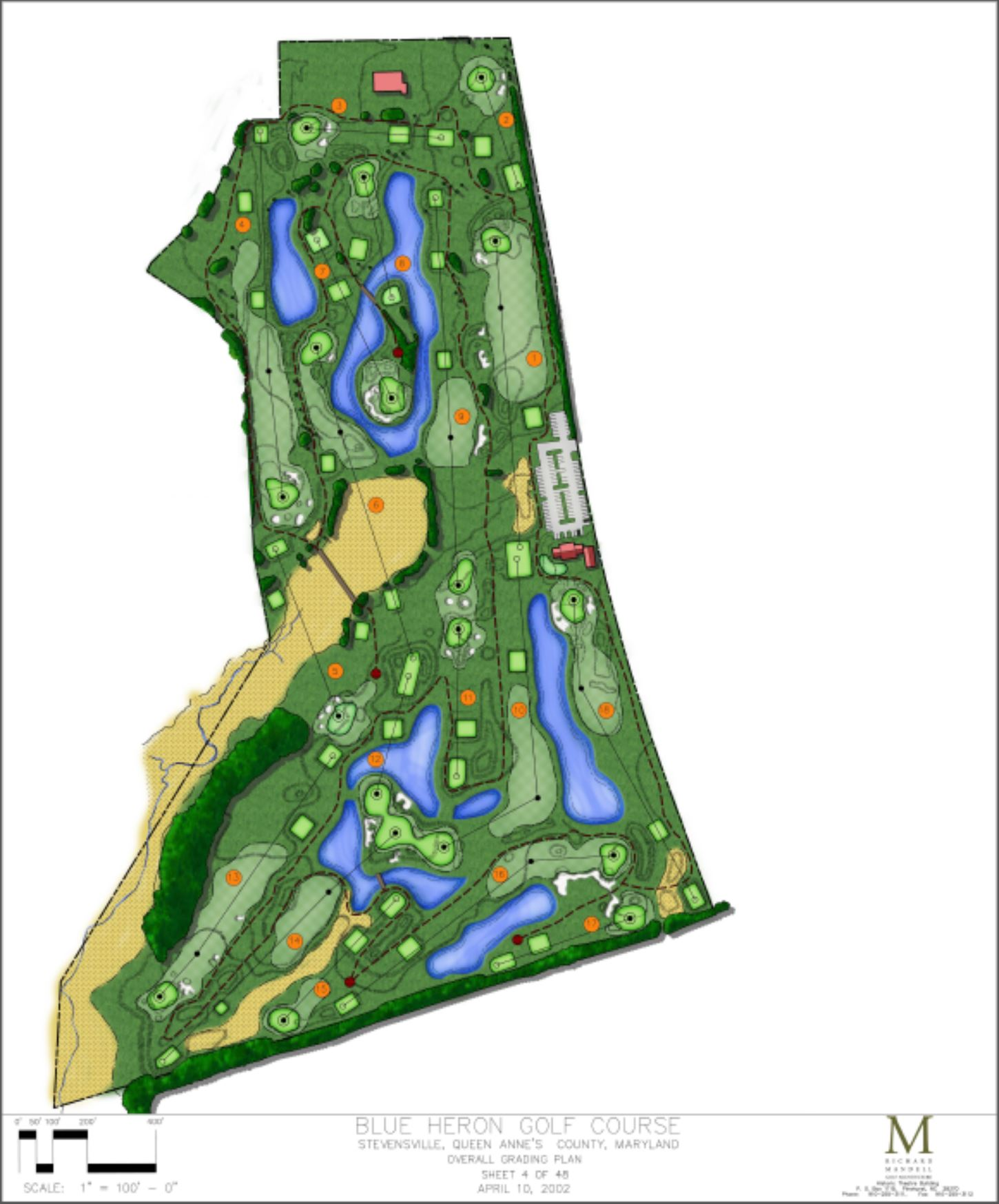 Blue Heron Golf Course Master Plan