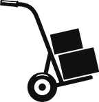 hand truck dolly clipart.png