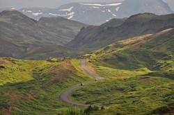 The rugged highlands of Iceland