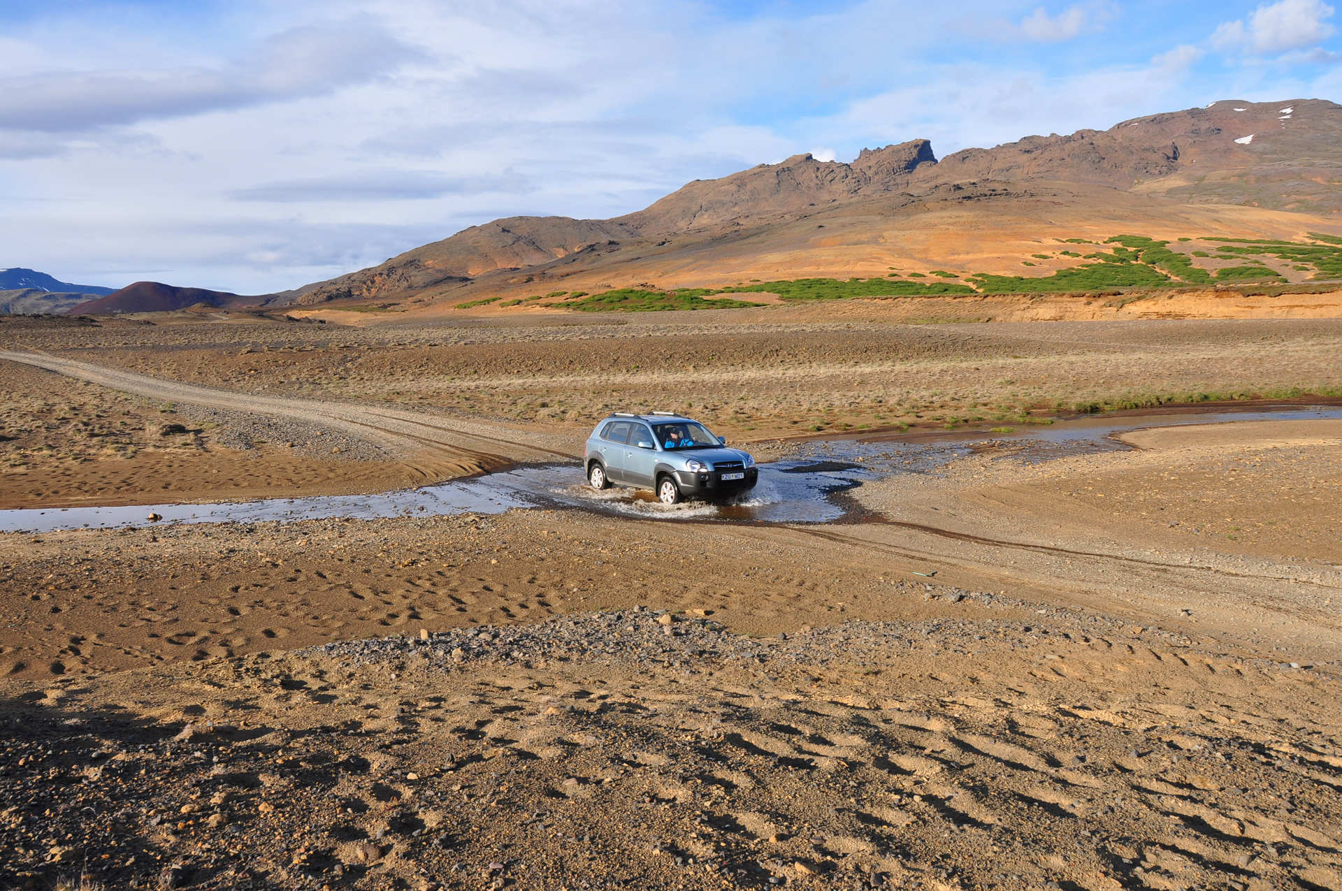 Driving F-roads in Iceland