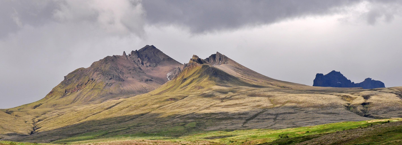 Iceland's majestic peaks