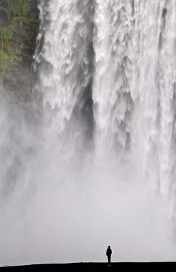 Skogáfoss Waterfall