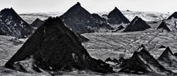 A dantesk world of ice and volcanos