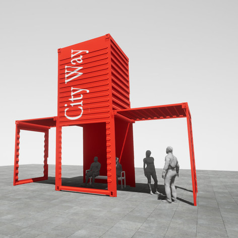 CITYWAY CONTAINER PAVILION