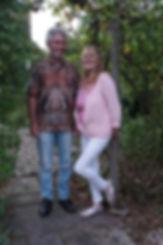 Paul and Mandy in garden.jpg