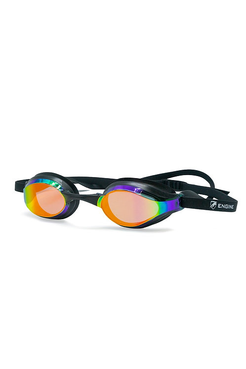Engine Bullet Goggles - Fire Black