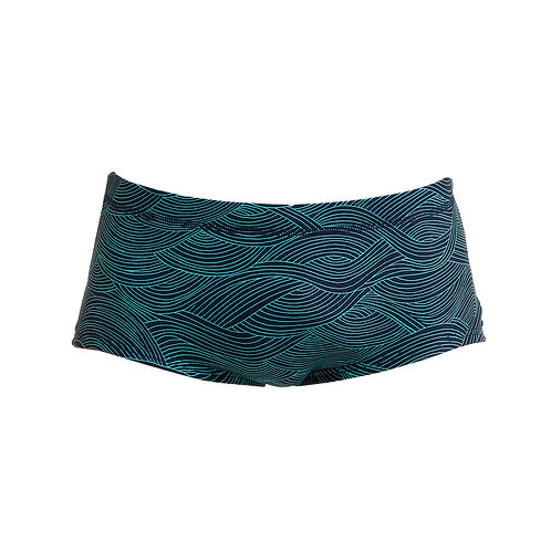 FUNKY TRUNKS MENS PLAIN FRONT TRUNKS (Ripples)
