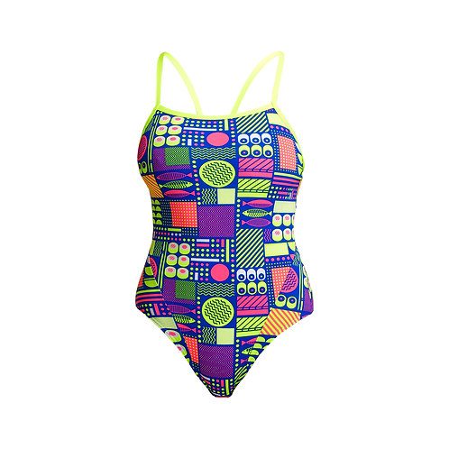 FUNKITA Ladies Single Strap One-Piece (Packed Lunch)