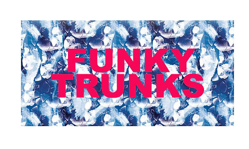FUNKY TRUNKS TOWEL (Head First)