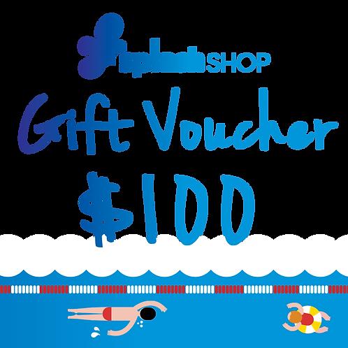 $100 SplashShop Voucher