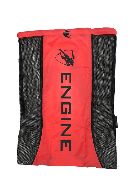Engine Mesh Backpack (Red)