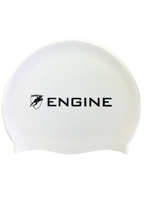 Engine Silicone Solid Cap - White