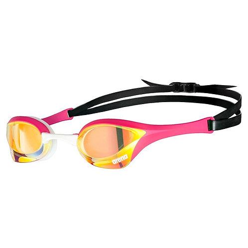 ARENA Cobra Ultra Swipe Mirror Goggles (Clear Lenses) - 390