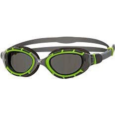 Zoggs Predator Goggles - Black/Lime/Clear