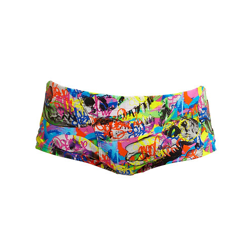 FUNKY TRUNKS MENS CLASSIC TRUNKS (Fossil Fuel)