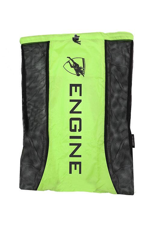 Engine Mesh Backpack (Green)